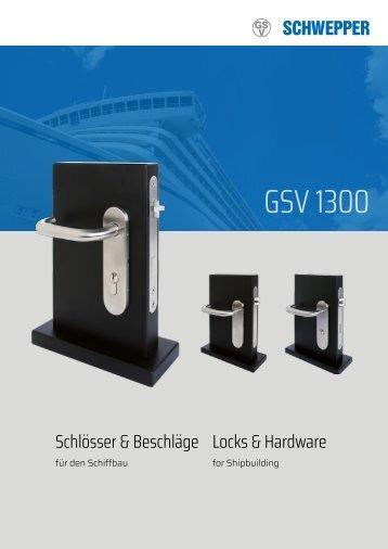 Produkblatt GSV 1300 / Product leaflet GSV 1300
