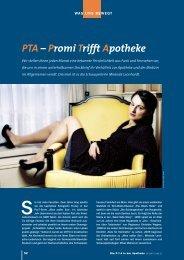 PTA – Promi Trifft Apotheke - Die PTA in der Apotheke