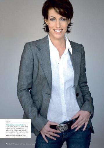 Arabella von Liechtenstein ist Diplom-Psychologin und Mutter ...