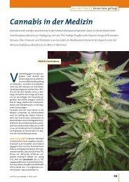 Cannabis in der Medizin - Die PTA in der Apotheke