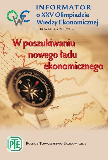 tutaj - Polskie Towarzystwo Ekonomiczne