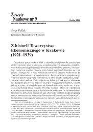 Zeszyty Naukowe nr 9, Artur Pollok, Uniwersytet - Polskie ...
