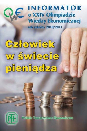 Informator XXIV OWE - Polskie Towarzystwo Ekonomiczne