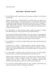 Zielona Księga - odpowiedzi na pytania, Joanna Kochanowska