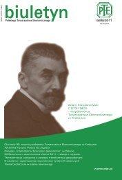 biuletyn 5(55)_recenzent_dr.indd - Polskie Towarzystwo Ekonomiczne