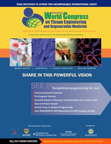 SEE INSIDE - Pittsburgh Tissue Engineering Initiative