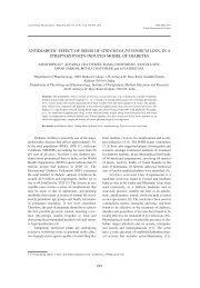 antidiabetic effect of seeds of strychnos potatorum linn. in a ...