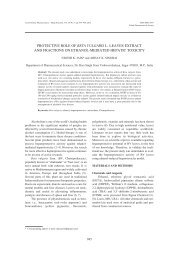 protective role of beta vulgaris l. leaves extract and fractions on ...