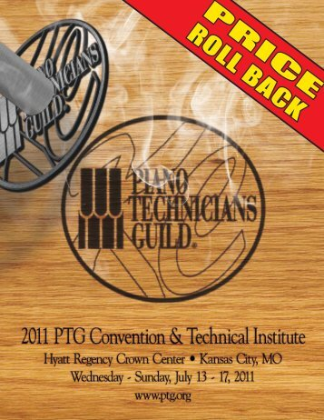 P R IC E ROLL BACK - Piano Technicians Guild