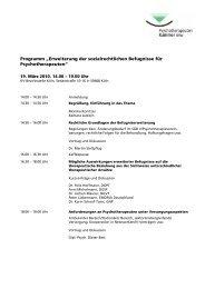 Programm und Referenten [PDF-DOkument, 30 KB]