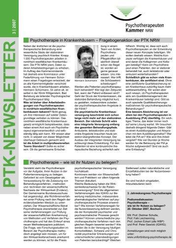 PDF, 135 KB - Psychotherapeutenkammer NRW