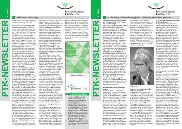 PDF, 900 KB - Psychotherapeutenkammer NRW