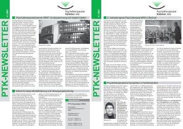 PDF, 1,8 MB - Psychotherapeutenkammer NRW