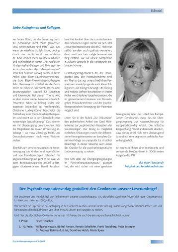 02 - Inhalt - 26 - K3.indd - Psychotherapeutenkammer NRW