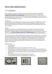 Reines USB-Ladekabel basteln - Android-Hilfe.de