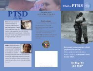 What is PTSD Brochure - National Center for PTSD
