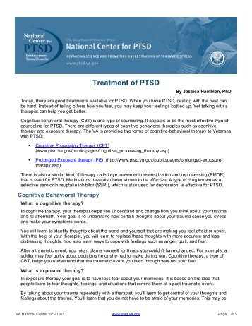 ptsd medications and treatments Many ptsd treatments involve the use of medications and behavioral therapy  (ssri) such as paxil and zoloft, and anti-anxiety medications.