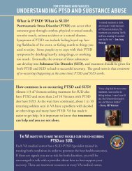 Understanding PTSD and Substance Abuse - National Center for ...