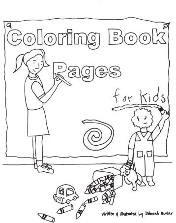 Coloring book pages for kids national center for ptsd