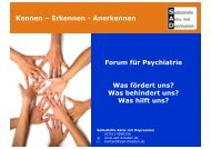 Was behindert uns? - Psychosozialer Trägerverein Sachsen eV