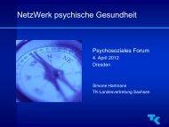 NetzWerk psychische Gesundheit