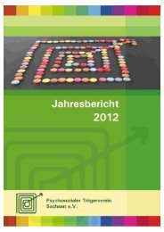 Jahresbericht 2012 - Psychosozialer Trägerverein Sachsen eV