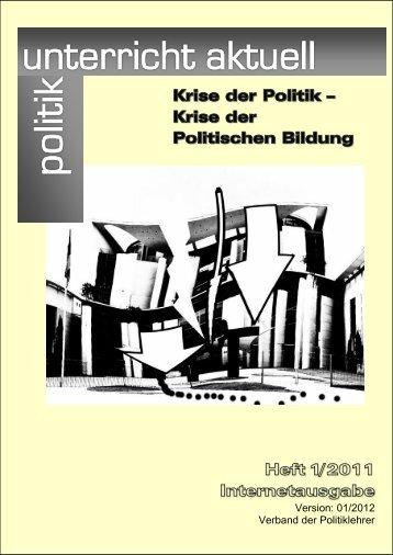 Textausgabe als PDF-Datei - Politik Unterricht Aktuell
