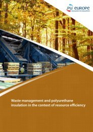 Polyurethane insulation and waste management - PU-Europe ...