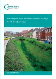 Improving the Flood Performance of New Buildings - Planning Portal