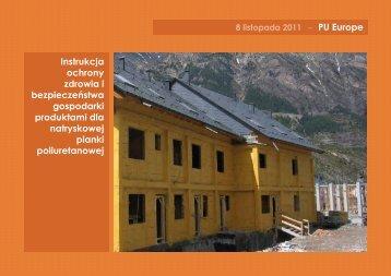 Instrukcja ochrony zdrowia i bezpieczeństwa gospodarki produktami ...
