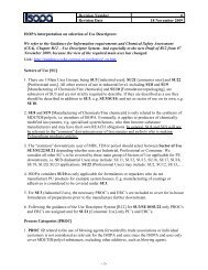 ISOPA interpretation on selection of Use Descriptors - PU Europe