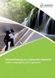 Fenntarthatóság és a poliuretán szigetelés A jelen ... - PU Europe