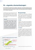 Fenntarthatóság és a poliuretán szigetelés A jelen ... - PU Europe - Page 7