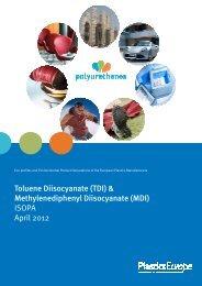 ISOPA Eco-profile MDI-TDI 2012-04 - PU Europe