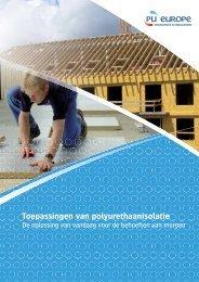 Toepassingen van polyurethaanisolatie - PU-Europe Excellence ...