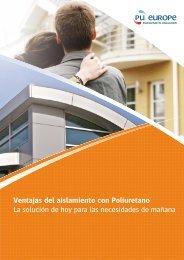 Las ventajas del aislamiento con Poliuretano - PU-Europe ...