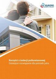 Korzyści z izolacji poliuretanowej - PU-Europe Excellence Insulation