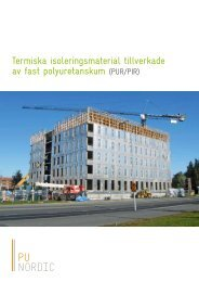 PUR/PIR - PU-Europe Excellence Insulation
