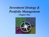 Lecture Presentation to accompany Investment Analysis & Portfolio ...