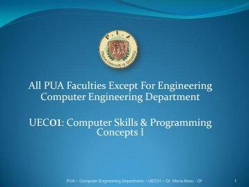 Pua skills