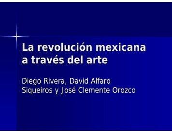 Rivera, Orozco y Siqueiros