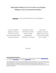 Which Hedonic Models Can We Trust to Recover - BYU Department ...
