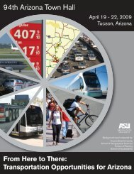 From Here to There: Transportation Opportunities for Arizona