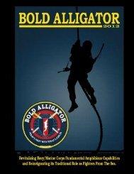 bold alligator 2012 information booklet - US Navy