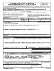 DD Form 1172-2, Application for Identification Card/DEERS