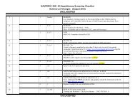 NAVPERS 1300 / 22 Expeditionary Screening Checklist Summary of ...