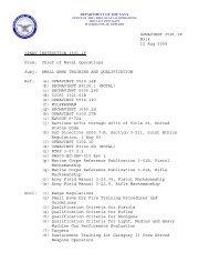 OPNAVINST 3591.1F N314 12 Aug 2009 OPNAV ... - Navy Issuances