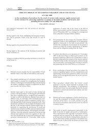 Directive 2009/81/EC - EUR-Lex - Europa