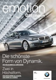 BMW niederlassung Göttingen - Publishing-group.de