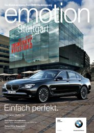 BMW Niederlassung Stuttgart - Publishing-group.de